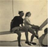Abb. 1. Gideon und Yudka, Palästina, 1947